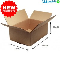♻ Standard ecommerce posting cardboard box