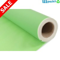 ★ Frosted Opaque Lime Green Cellophane Wrap Roll 50mt / 164 ft ★