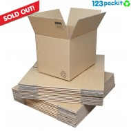 ★ Bundle: Lot of 25 e-commerce boxes + 1 brown roll + shipping ★