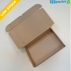 ♻  Flat eCommerce eco friendly boxes all brown double walled